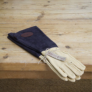 Men's Gardening Gauntlet Glove
