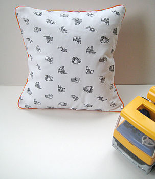 Mini Machines Scatter Cushion