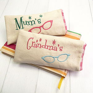 50's Inspired Personalised Glasses Case - glasses cases