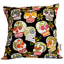 Skulls Day Of The Dead Cushions