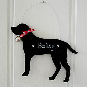 Christmas Labrador Dog - hanging decorations