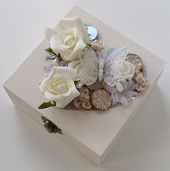 Traditional Floral Colours Keepsake Box