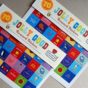 'Jolly Good' Reward Stickers - make your own