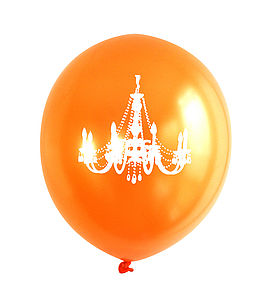 Orange Chandelier Balloon