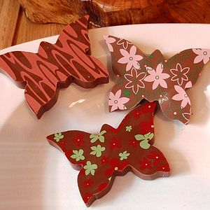 Milk Chocolate Butterfly - wedding favours