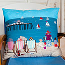 'Relax By The Sea' Cushion