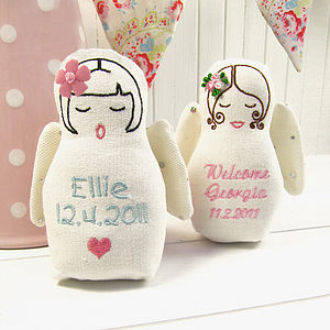 Personalised New Baby Guardian Angel - gifts for babies