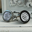 Personalised Dictionary Extract Cufflinks