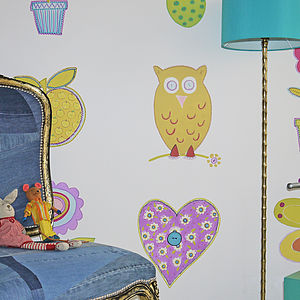Sugar And Spice And All Things Nice Wallpaper - children's living