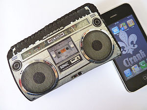 Boom Box Phone Case - tech accessories for him