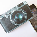 IPhone Case Retro Camera Phone Case
