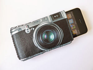 IPhone Case Retro Camera Phone Case - tech accessories for her