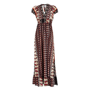 40% OFF Sevilla Cotton Maxi Dress - dresses