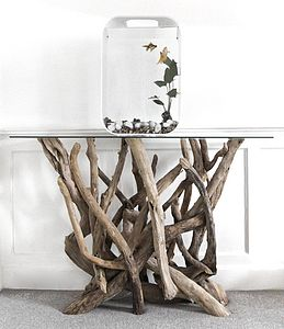 Driftwood Console Table - furniture
