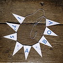 It's A Boy Bunting Small