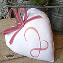 Cotton 2nd Wedding Anniversary Heart