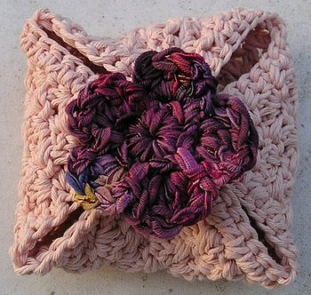 Ice Pink Natural Cotton Facecloth Parcel
