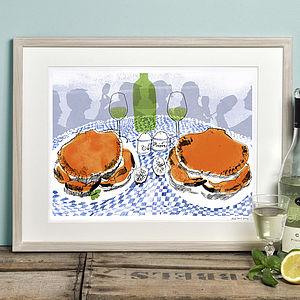 Crabs Print