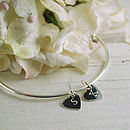 Token Heart Bangle