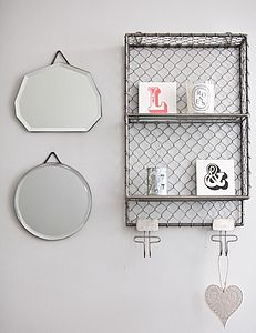 Tribecca Wall Rack - shelves & racks