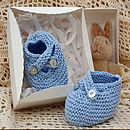 Hand Made Baby Boy Shoes