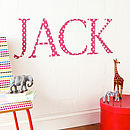 Giant Red Star Wall Stickers