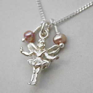 Fairy Necklace In Sterling Silver - charm jewellery