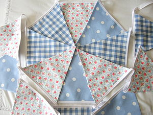 Blue Bunting ~ Various Designs - home accessories