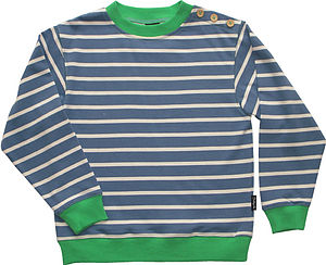 Breton Crew Sweat - clothing