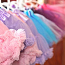 Pettiskirt & Satin Hair Bow