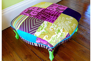 Cochin Footstool - shop by room