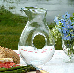 Glass Shaped Alfresco Carafe - dining room