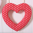 Red Dotty Heart