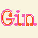 Gin type