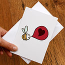 Bee Loved Card