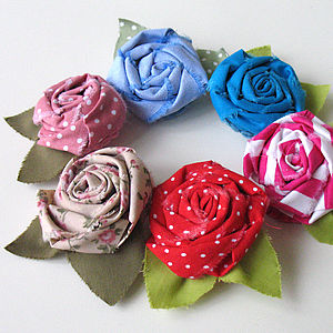 Rustic Rosette Brooch - women's accessories