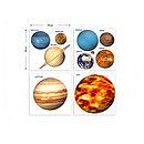 Solar System Planets Wall Sticker