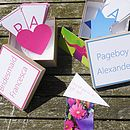 Personalised Bridesmaid Or Pageboy Gift Box