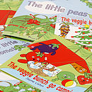 'The Little Peas' Storybook
