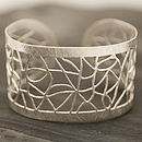 Jali Lattice Cuff Bangle 2