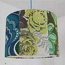 'Desert Rose' Patchwork Lampshade