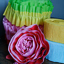 Paper Crepe Streamers