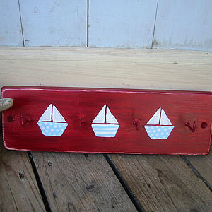 Sailboat Key Rack