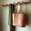 Savannah Leather Shopper Bag