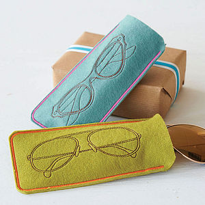 Soft Felt Spectacles Case - birthday gifts
