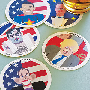 Public Servants Coasters