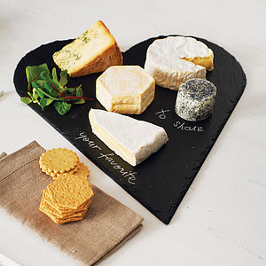 Slate Heart Cheeseboard - shop by occasion