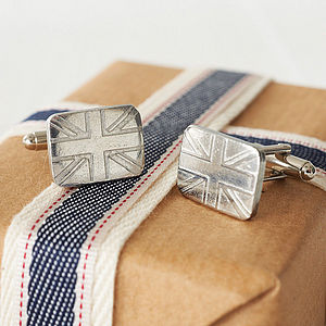 Patriotic Cufflink Gift For Him - gifts for him