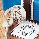 Your Child's Drawing Key Ring