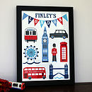 Personalised London Print